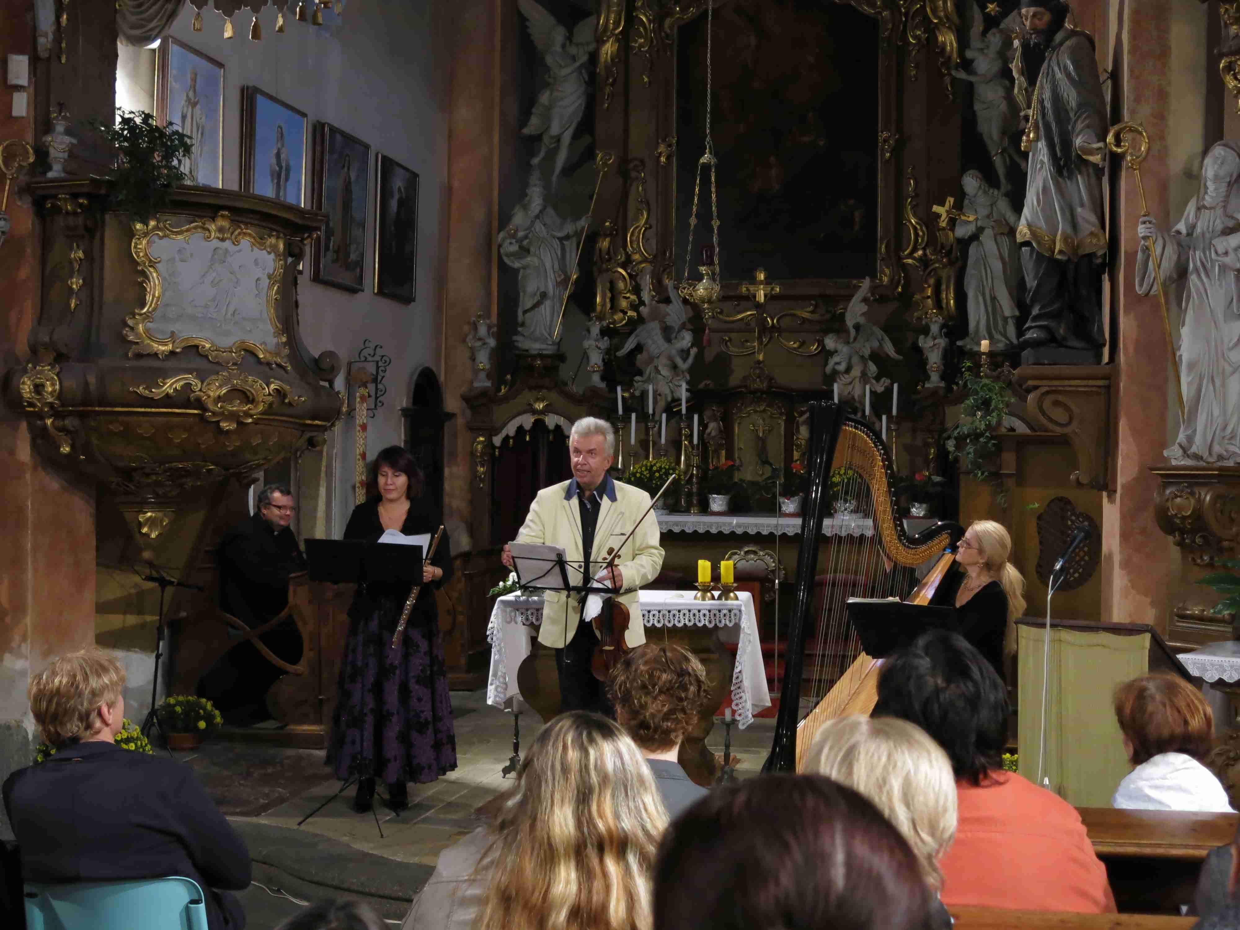 pouť ke sv. Františku 2014 - koncert - 1