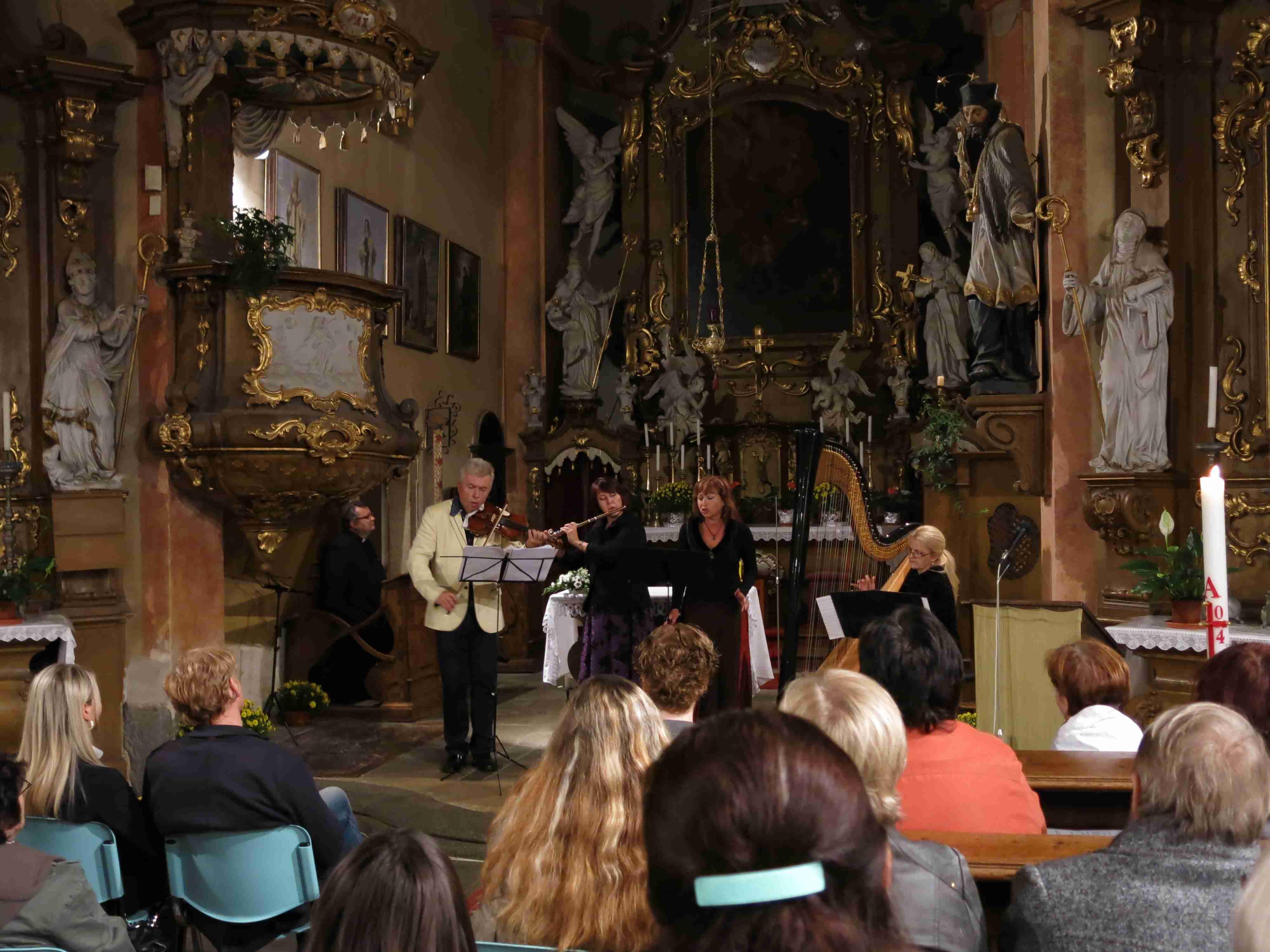 pouť ke sv. Františku 2014 - koncert - 2