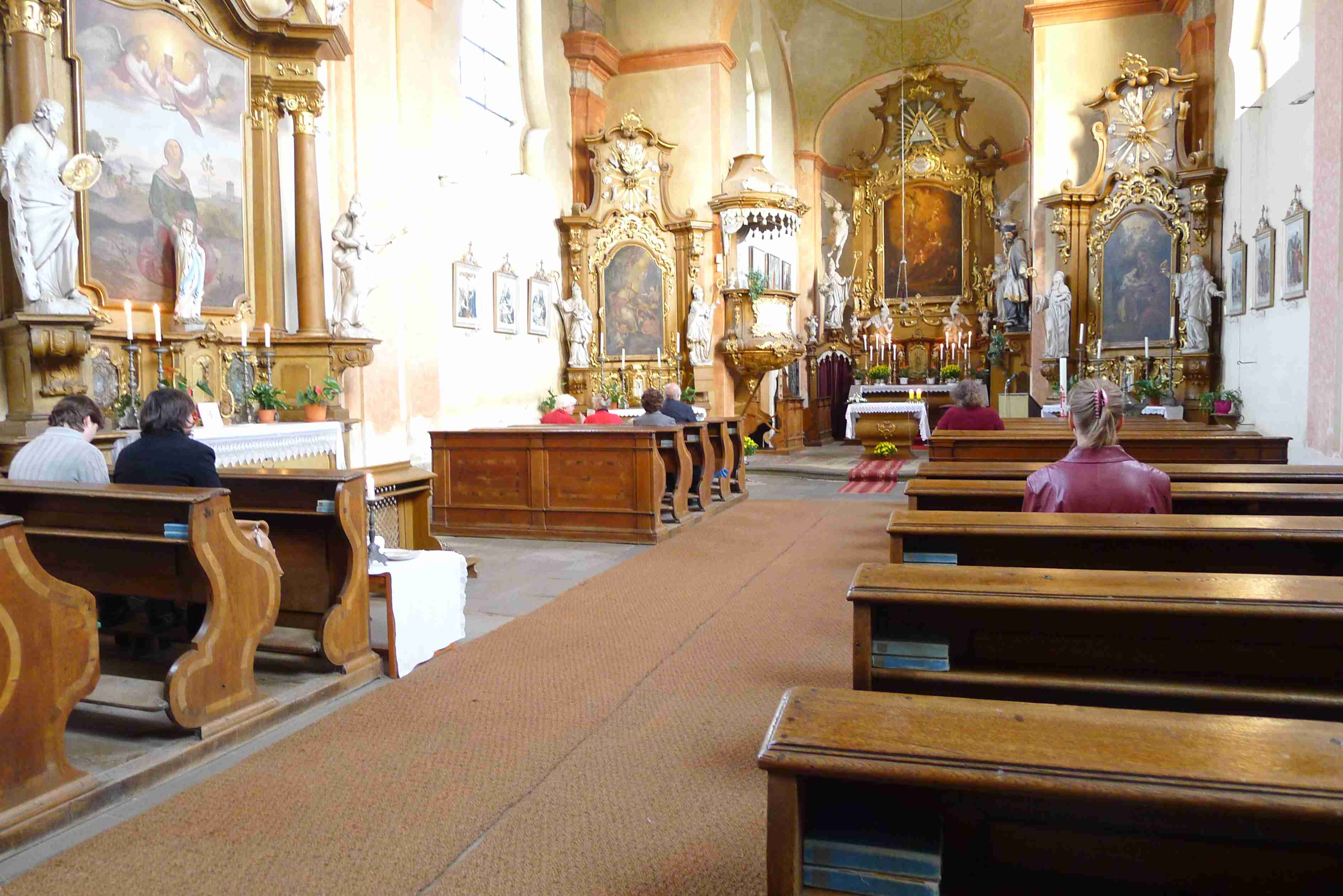 pouť ke sv. Františku 2014 - pátek - 1